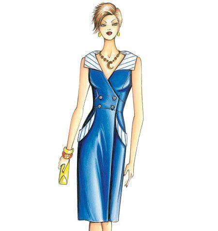 F3650, Marfy Dress | Marfy | Pinterest | Nähen