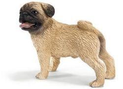 Male Pug Figurine By Schleich 16381 Pug Toy Pugs Schleich