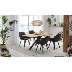 Solid wood dining tables -  Home affaire dining table Montreal Home AffaireHome Affaire  - #ArtsAndCrafts #ChickenScratch #ChickenScratchEmbroidery #dining #Enamels #Solid #tables #Wood #Woodwork