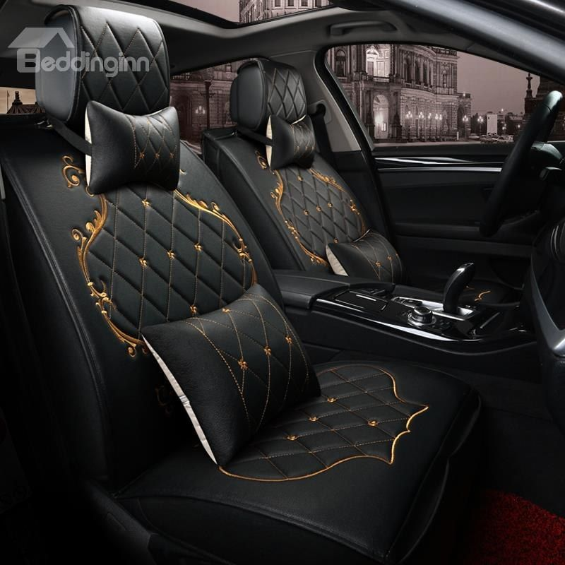 Classic Luxury Design With Beautiful Gold Trimmings