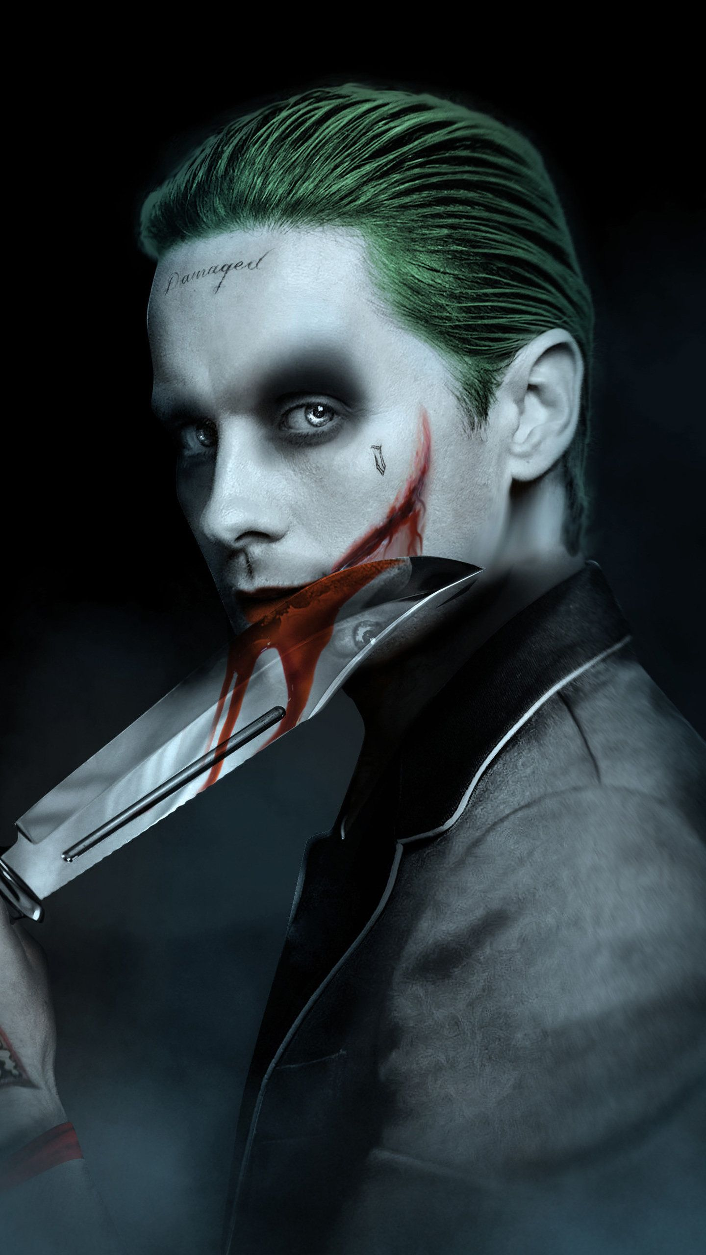 Jared Leto Joker Artwork Hd Superheroes Wallpapers Photos And