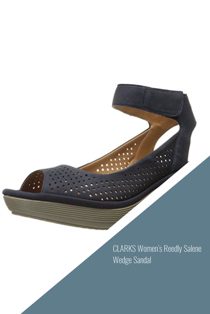 c3140549 CLARKS Women's Reedly Salene Wedge Sandal #shoes | Shoes | Wedge ...