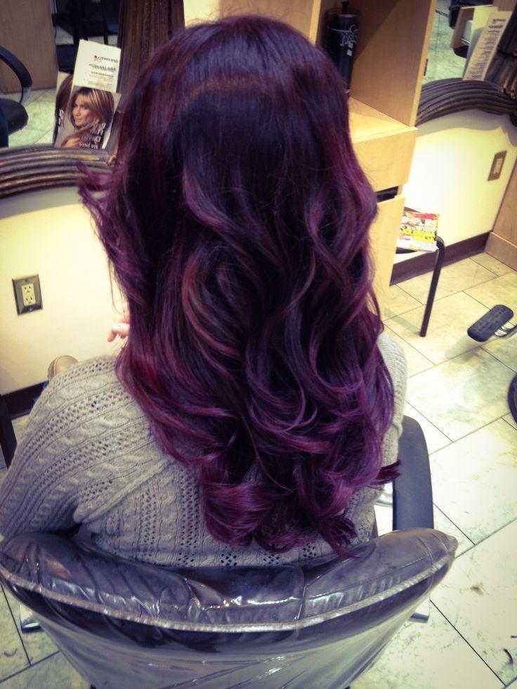 Violet Hair Color Deep Violet Hair Color Deep Purple Hair Deep