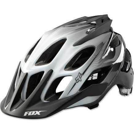 Fox Flux Bike Helmet Helmet Bike Mountain Bike Helmets