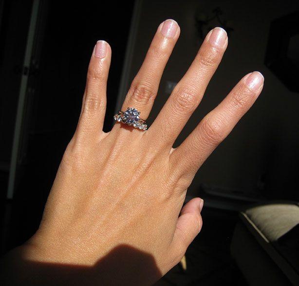 213 f vvs2 size 4 dream ringengagement - Size 4 Wedding Rings