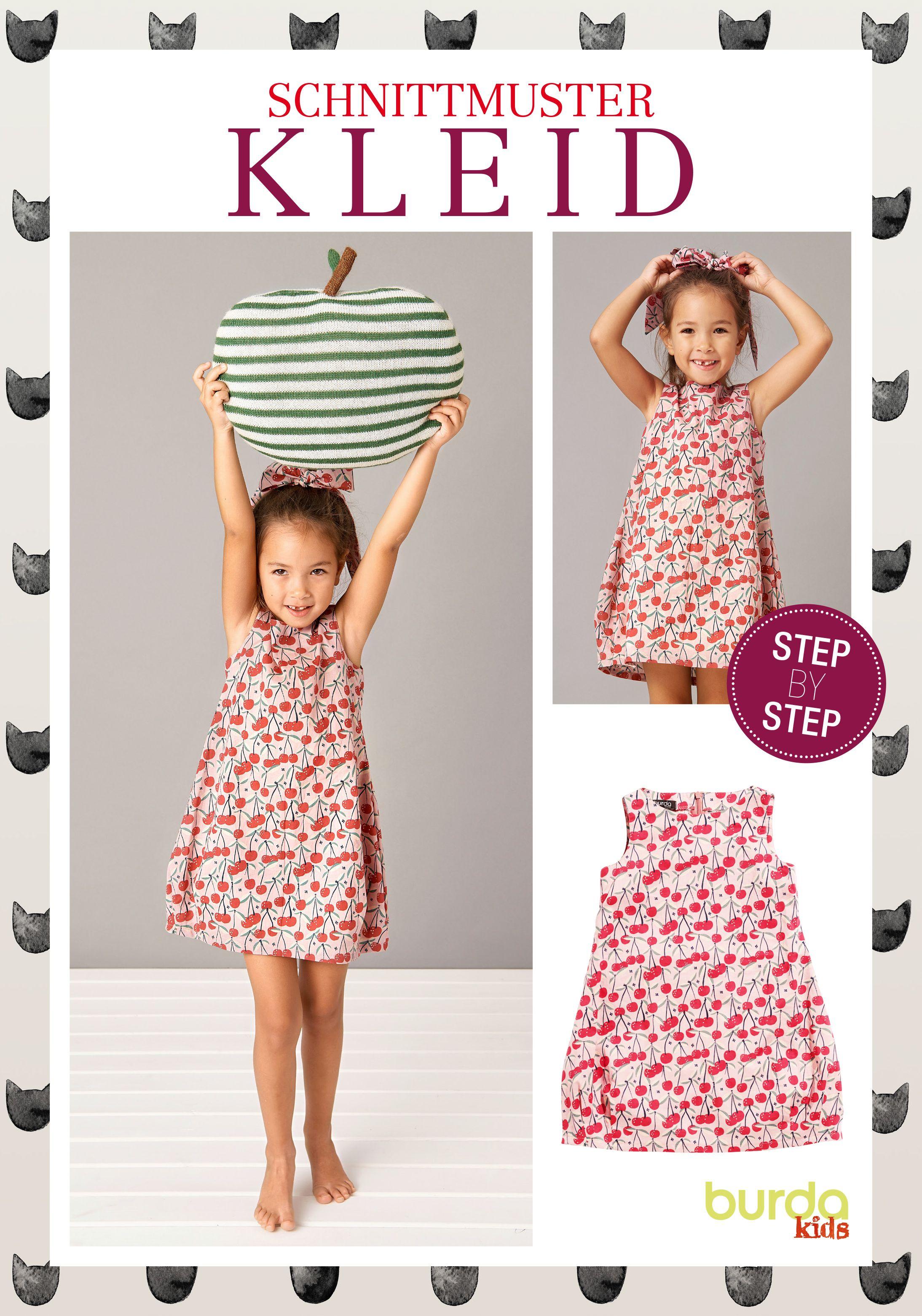 Schnittmuster · Kleid · Step by Step Nähanleitung