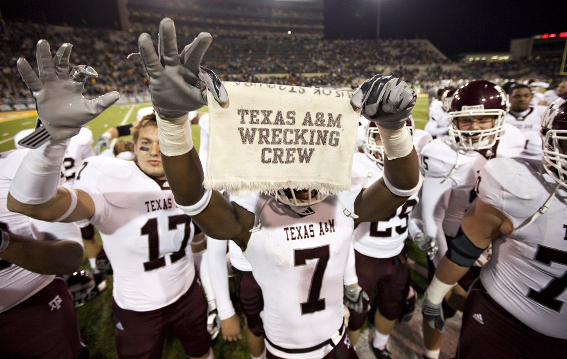 Texas A Wrecking Crew Aggie Football Texas Aggies Football Texas Aggies
