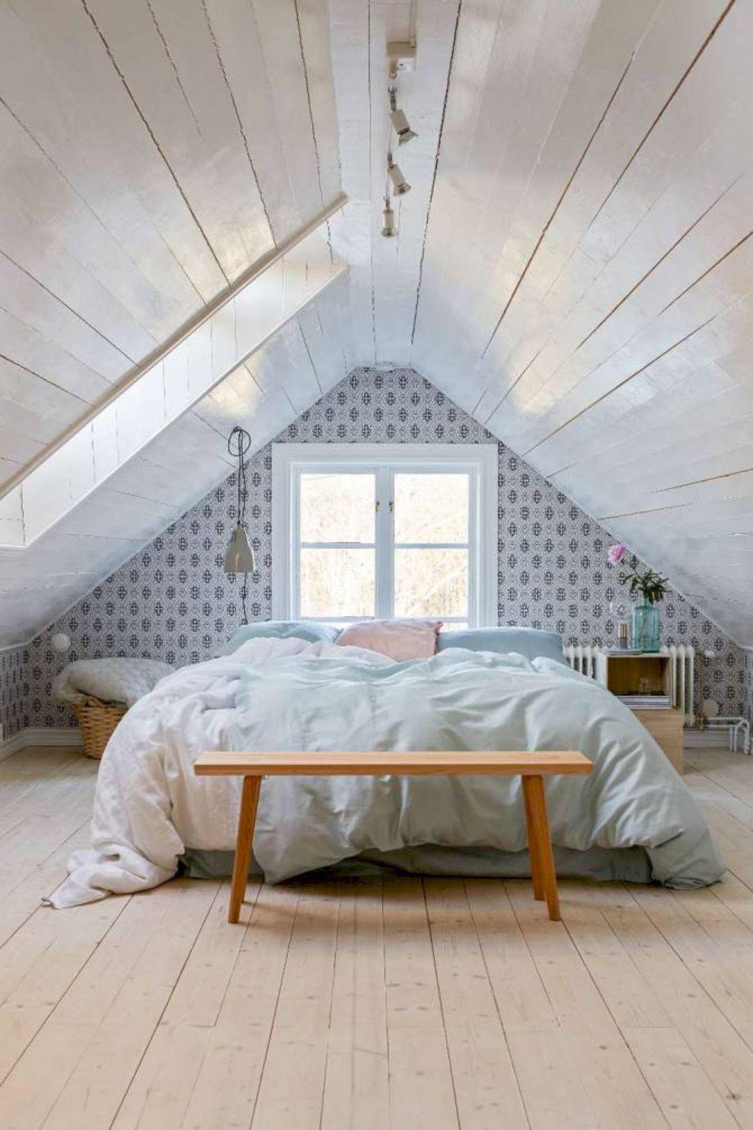 Inspiring Examples Of Minimal Interior Design 5 Attic Bedroom Designs Minimalism Interior Bedroom Design