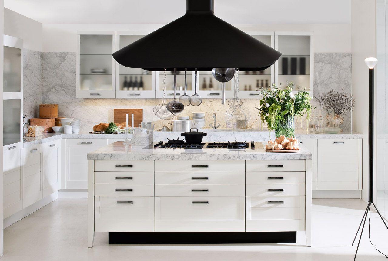 Cucina classica ad angolo e con isola: Regula   Elmar Cucine ...