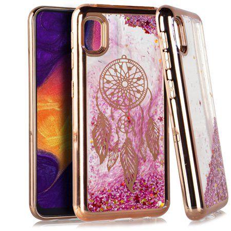 MUNDAZE Samsung A10E Case Cover Dreamcatcher Pink Motion Glitter Chrome - Walmart.com