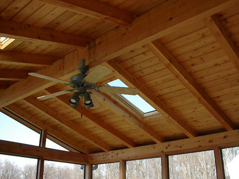 Screened Porch Ceiling Fan Jpg Screened In Porch Timber Frame