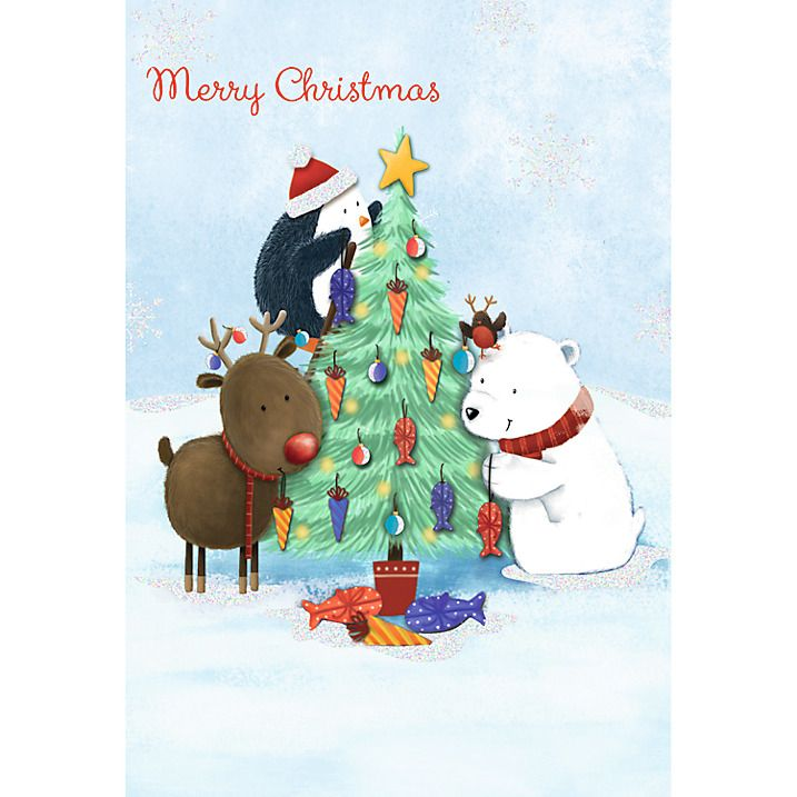 Buy Special Editions Animal Chorus Charity Christmas Cards, Box of 8 ...