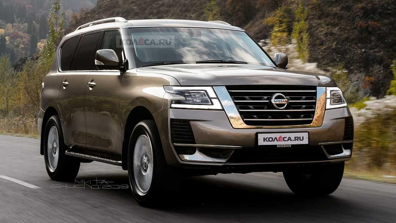 Nissan Patrol Facelift 2020 Performance Di 2020