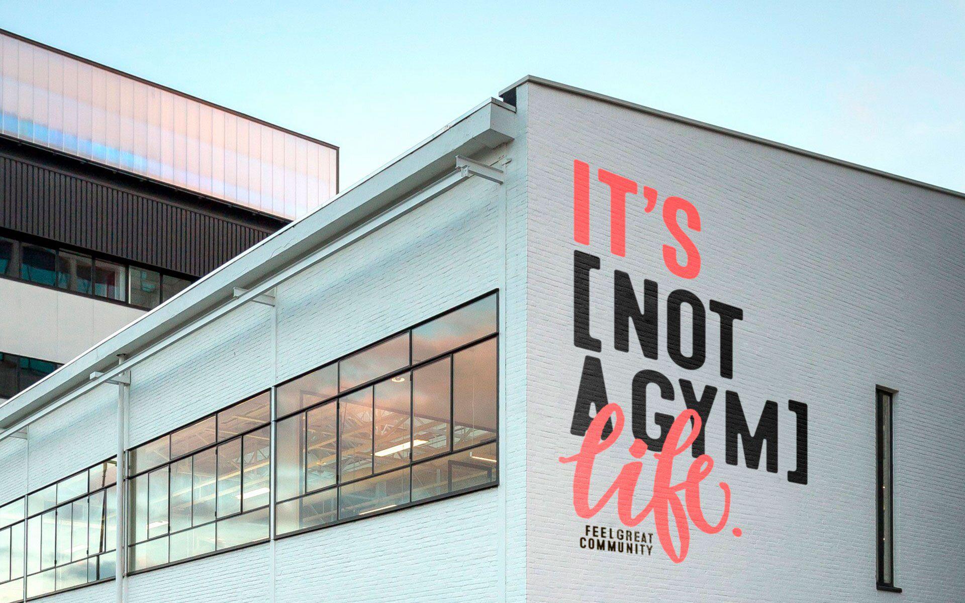 Identity For Fitness Club Miami Usa Gym Design Gym Interior Gym Design Interior