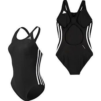 78f2614309 ADIDAS WOMENS 3 STRIPES AUTHENTIC ONE PIECE SWIMSUIT - X12894
