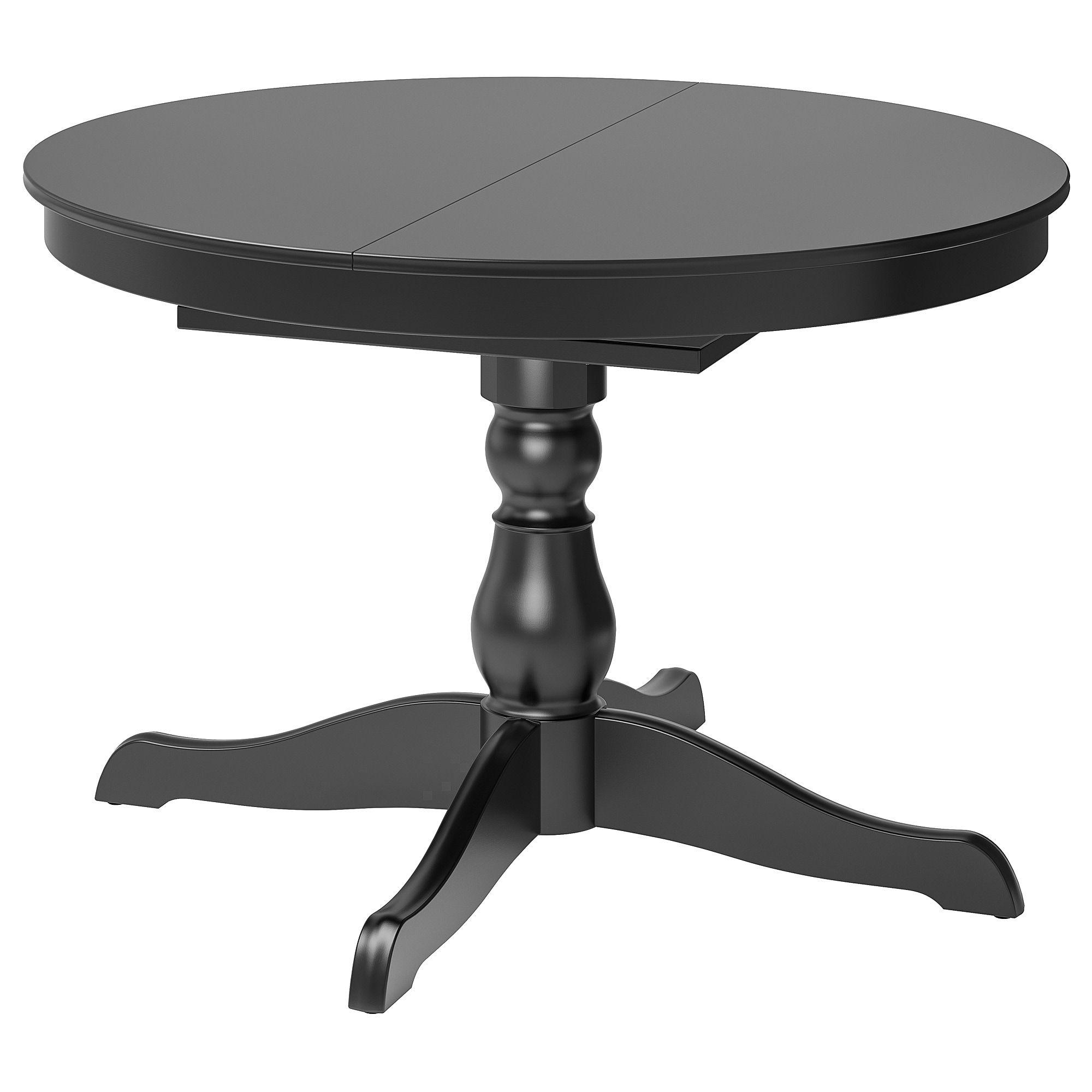 Ikea Ingatorp Black Extendable Table Dining Table Table Ikea