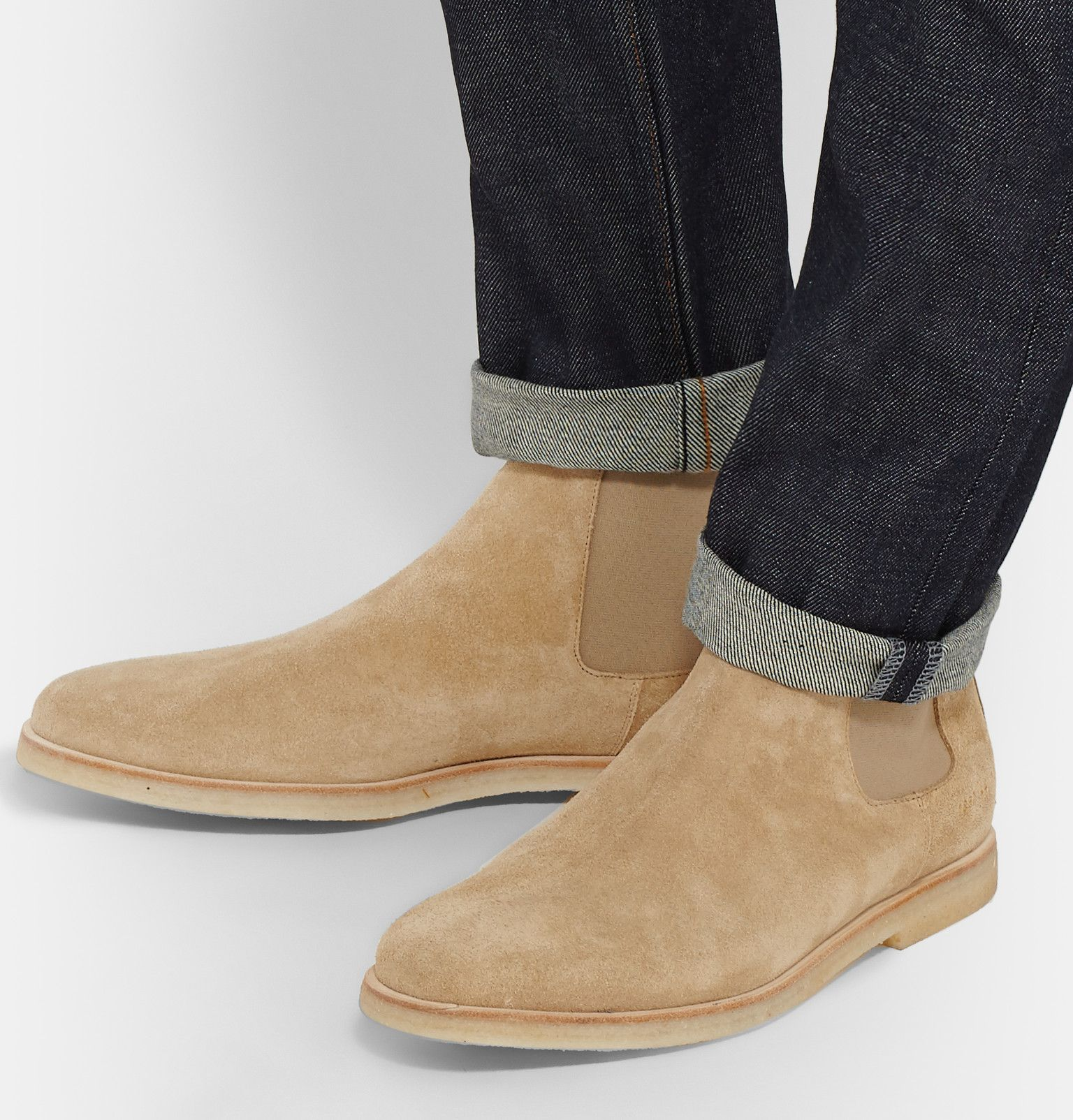 chelsea boots sand suede new style