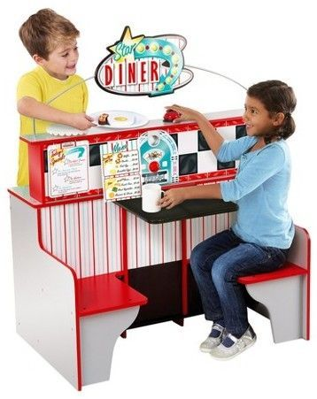 Hot Toy List For Christmas 2019 Melissa & Doug® Deluxe Star Diner Restaurant   Gifts for 5 year