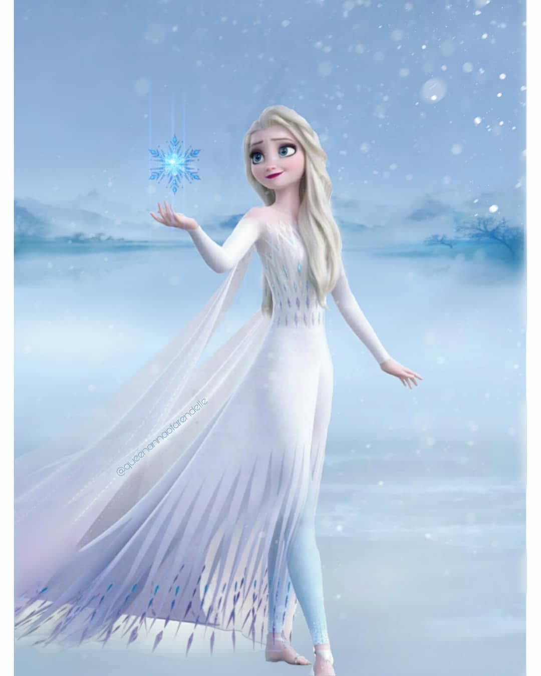 Photo of Queen Anna of Arendelle