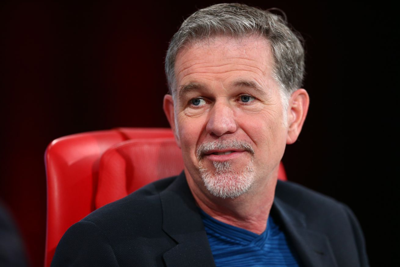Netflix CEO Reed Hastings says people will still go to theaters even if movies stream right away