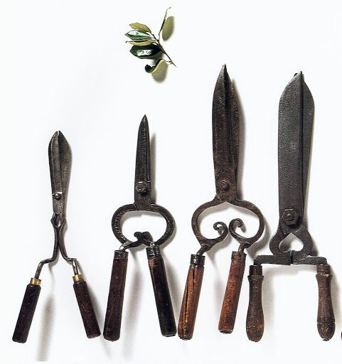 Hedge Clippers Came In A Variety Of Shapes And Sizes The