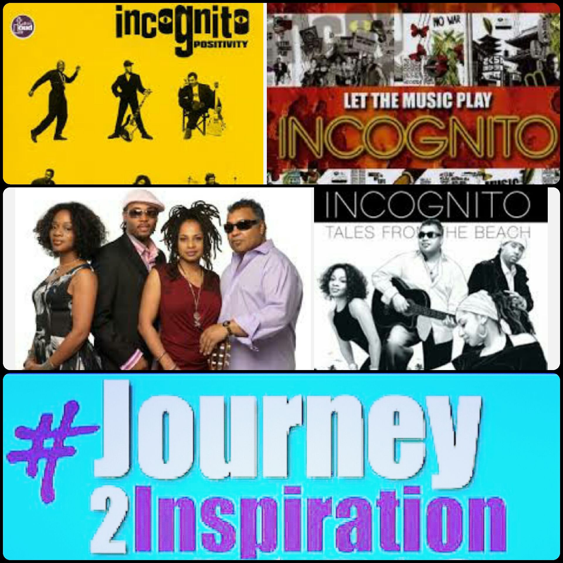 Nowplaying An Incognito set on WJTI Journey to
