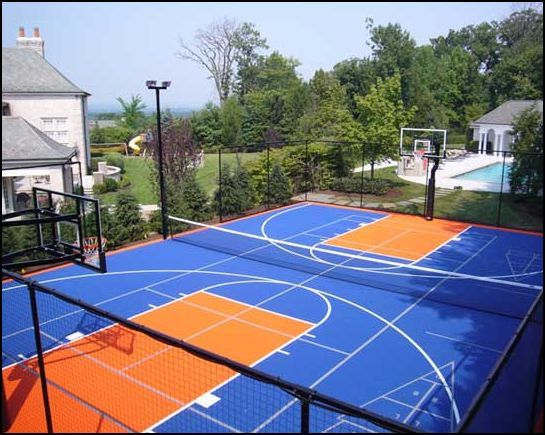 Versacourt Can Be Used For A Basketball Court, Tennis Court, Shuffleboard  Court Or Multi Game Court. Just Imagine The Possibilities!