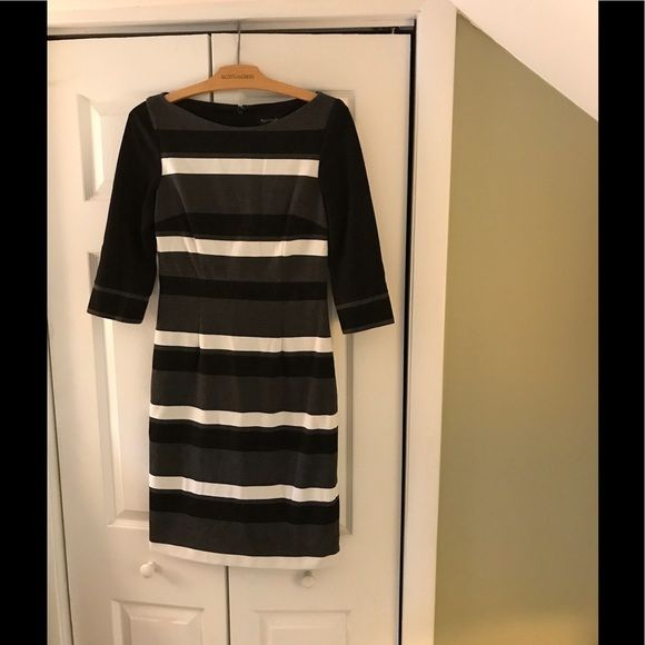 I just discovered this while shopping on Poshmark: Classic wide striped dress. Check it out!  Size: 6, listed by 376