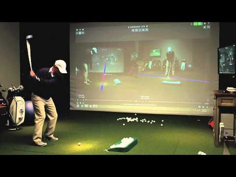 TrackMan Golf Simulator - YouTube