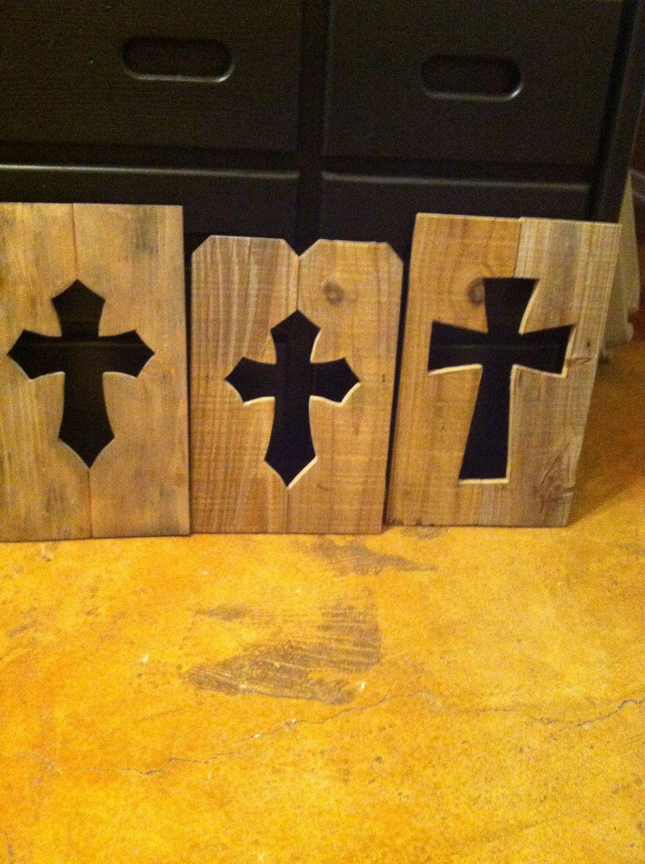 Barn/Fence wood cross cutouts.   Crafty Ideas   Pinterest   Wood ...