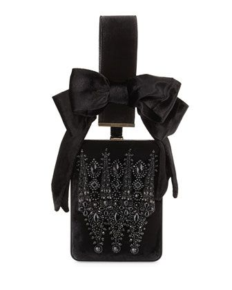 67717e0bf59 Show+Line+Embroidered+Clutch+Bag,+Black+by+Givenchy+at+Neiman+Marcus ...