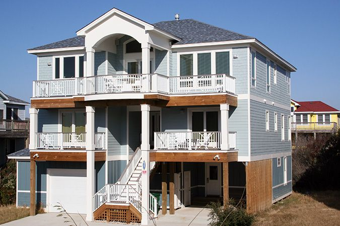 """""""The Good Life"""" in Corolla, NC. Ready to spend the week there."""