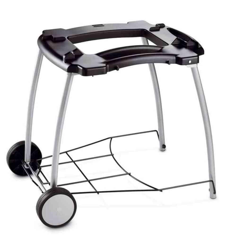 Weber 6549 Grill Cart, Q Rolling Cart ( fits 100 & 200 series)