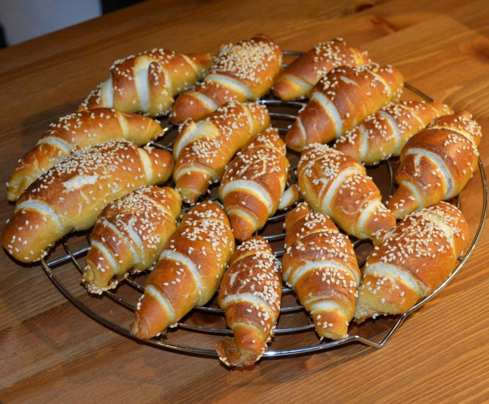 Photo of Mini pretzel croissants