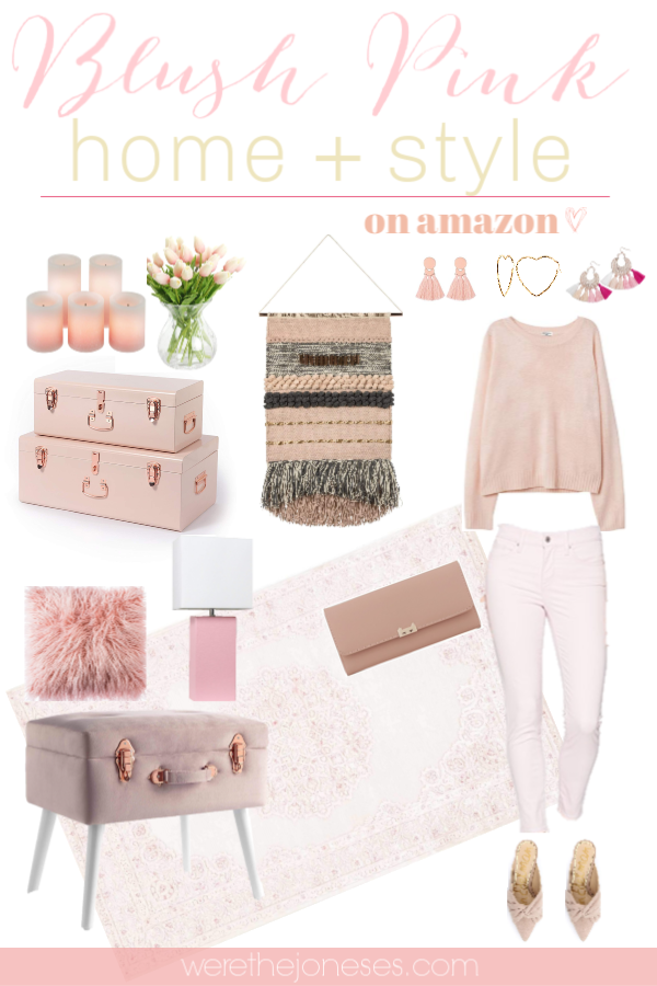 Chic And Affordable Blush Pink Home Decor Fashion Finds Pink Home Decor Pink Room Design Pink Decor