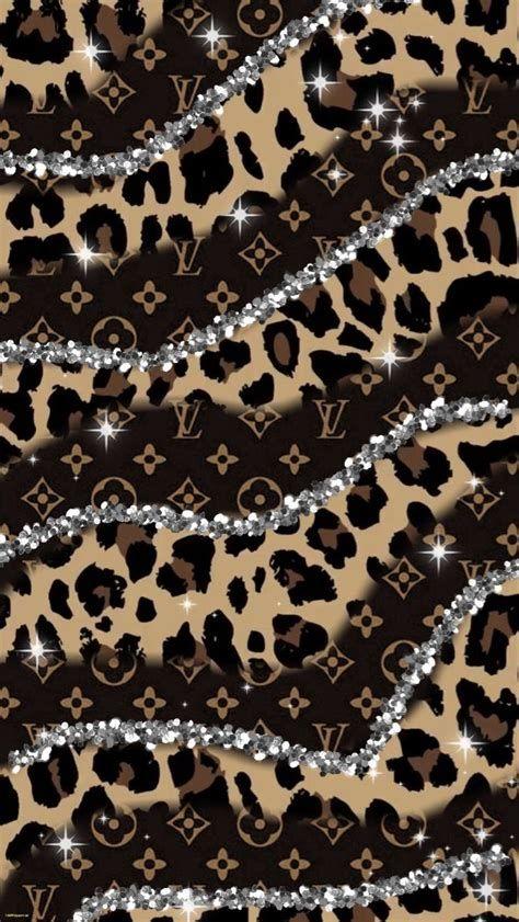 Cheetah Print /Louis Vuitton Sparkles 🐆 | Iphone Wallpaper