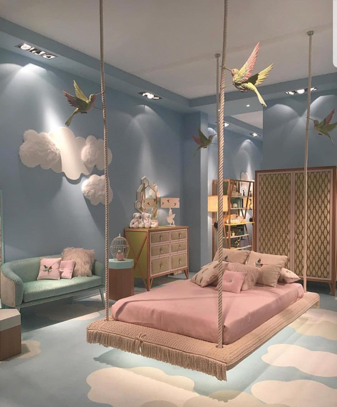Pin By Kamelia Maloos On Kids Bedroom Girl Bedroom Designs Bedroom Design Girl Bedroom Decor