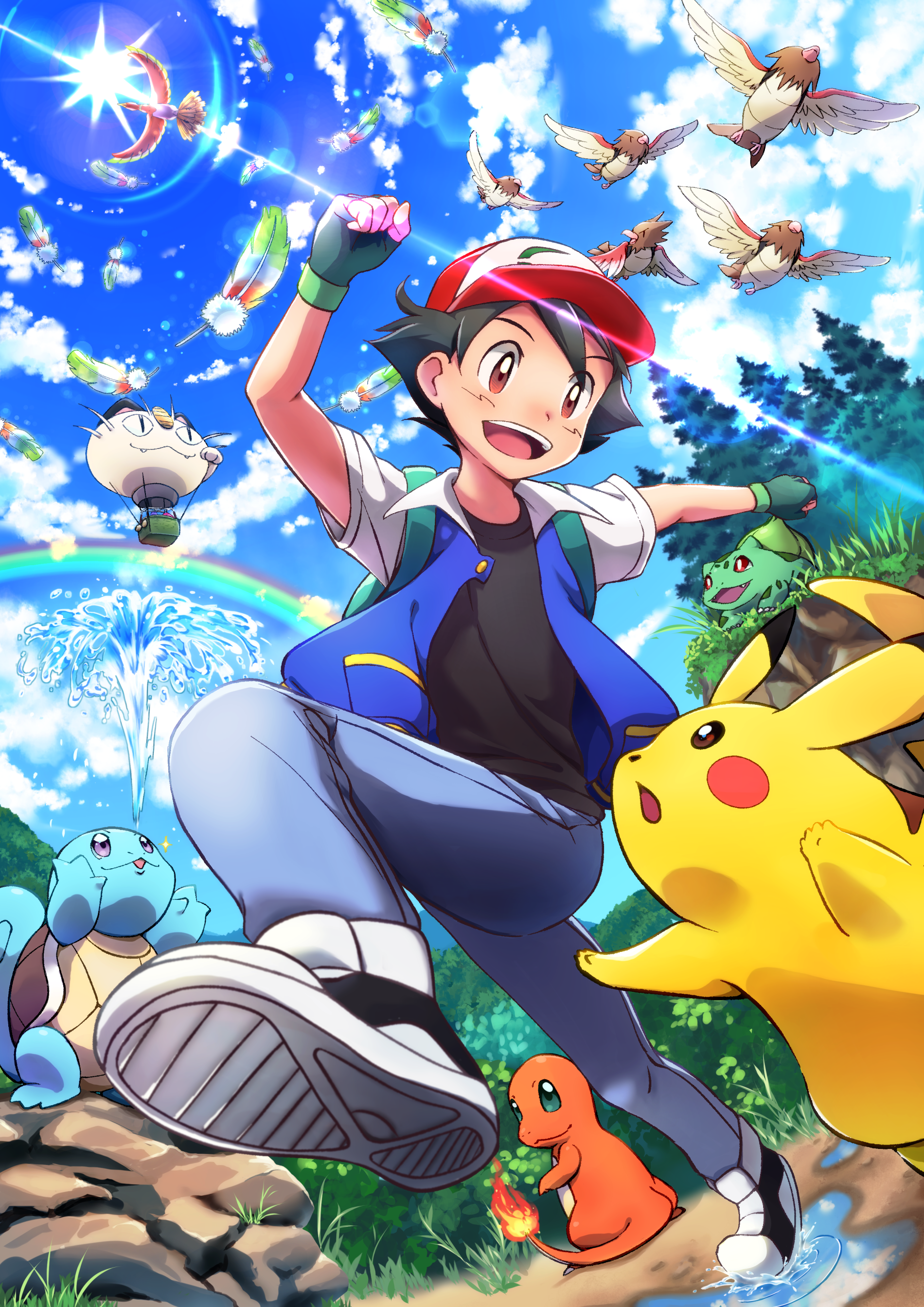 Pokemon The Movie I Choose You Hd Wallpaper Ash De Pokemon Fotos De Pokemon Imagenes De Pokemon