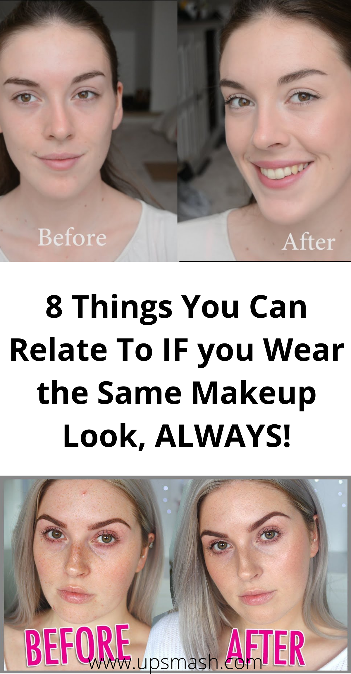 8 Things You Can Relate To If You Wear The Same Makeup Look Always In 2020 Makeup Looks Everyday Makeup Routine Everyday Makeup