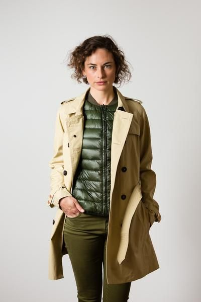 w'lfg'ng (wolfgang) spring summer Womens Trench and Liner Vest