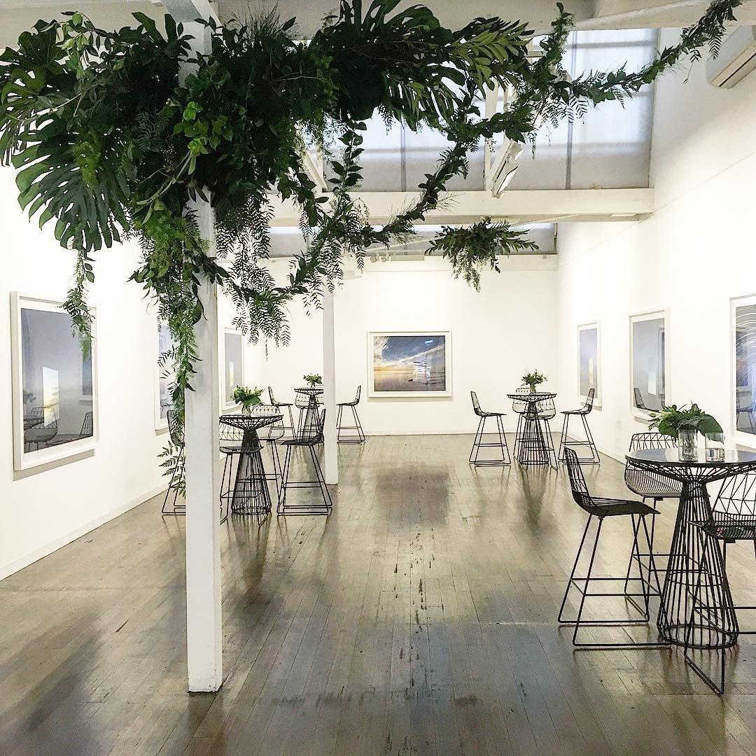 Gallery greens. #🌿 #mondayhitching #weddingday # ...