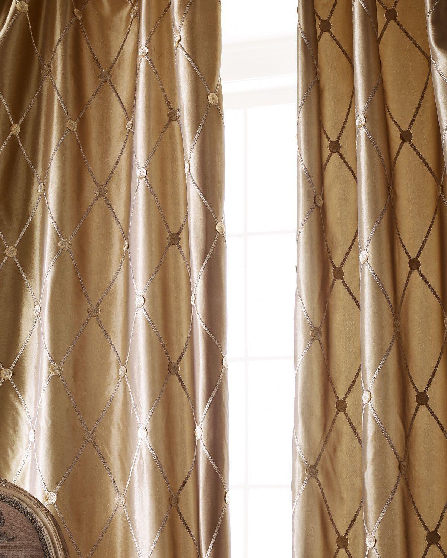 """Each 55""""W x 84""""L Remington Curtain, Merlot"""