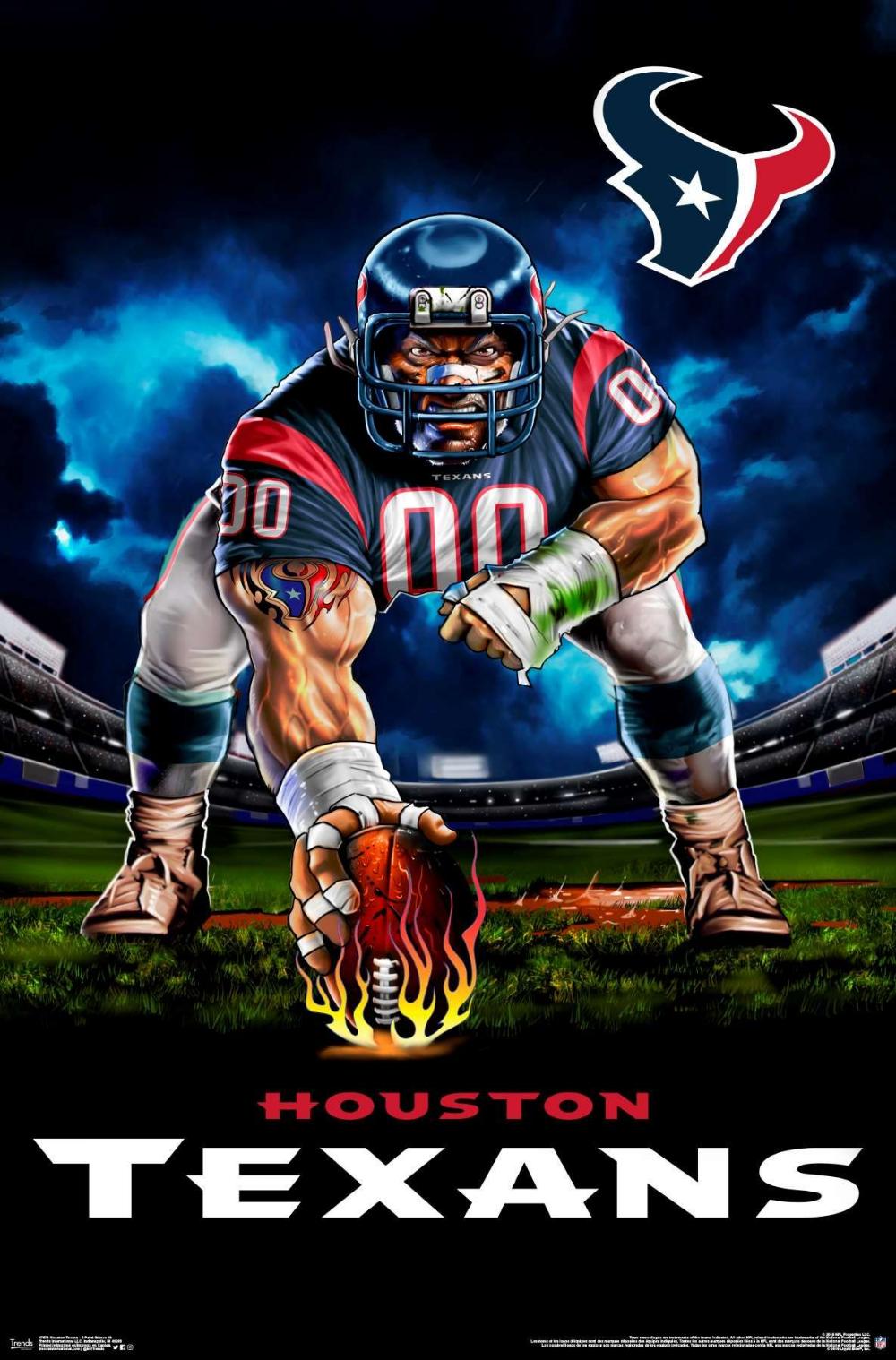 Nfl Houston Texans 3 Point Stance Houston Texans Football Logo