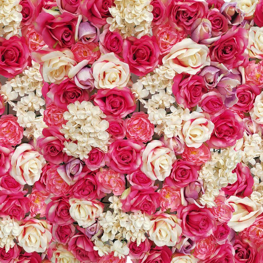 60x40 Artificial Rose Hydrangea Flower Wall Panel Wedding Venue Decoration Bulk Ad Affiliate Rose Hydrangea Flower Artificial Roses Pomander Flower Balls