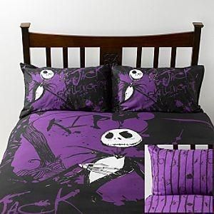i found disney nightmare before christmas double bed set disney store on wish check it out - Nightmare Before Christmas Bedding Queen