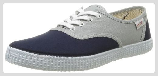 106651, Sneakers Basses mixte adulte, Gris (Antracita), 41 EUVictoria