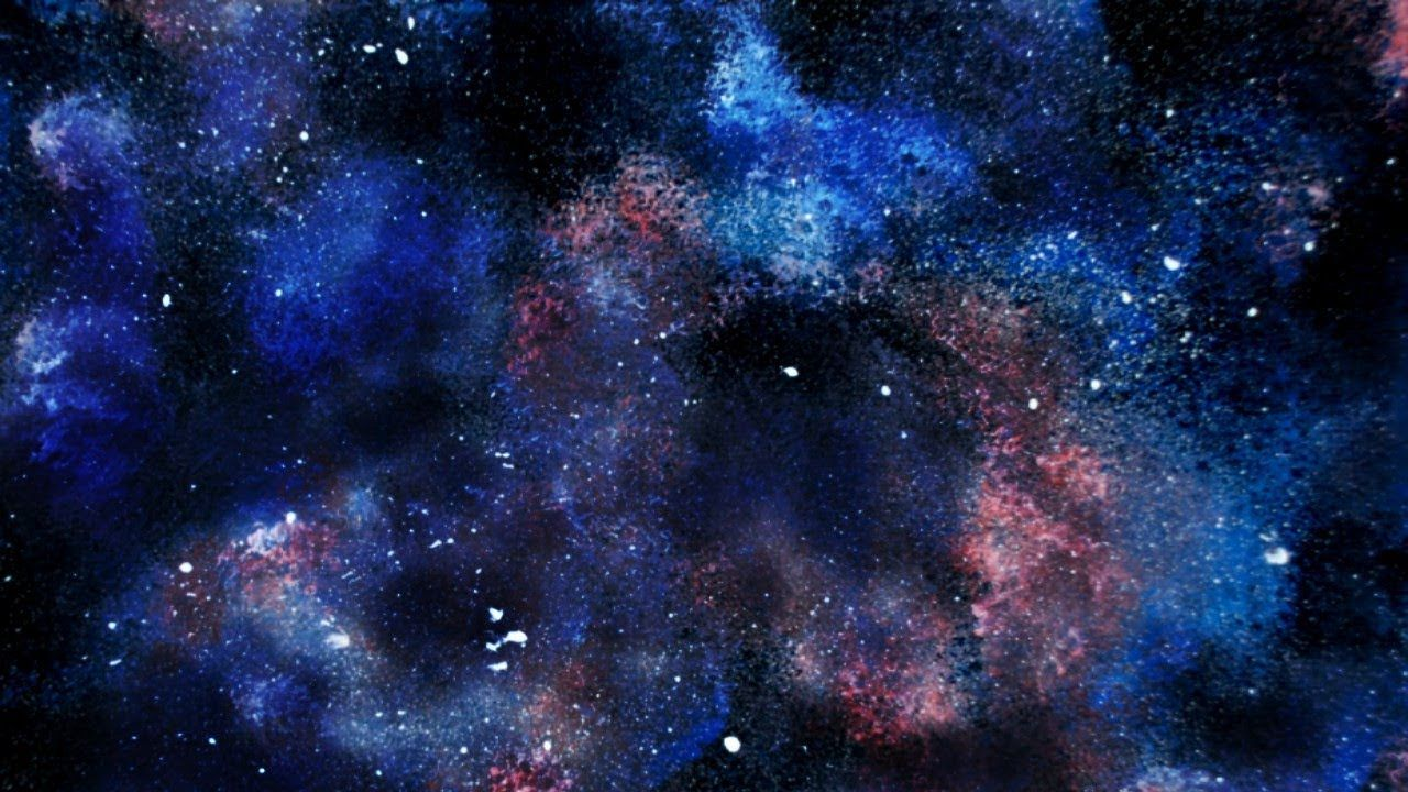 Galaxy Canvas Painting Tutorial For Beginners Night Sky Painting Galaxy Painting Sky Painting