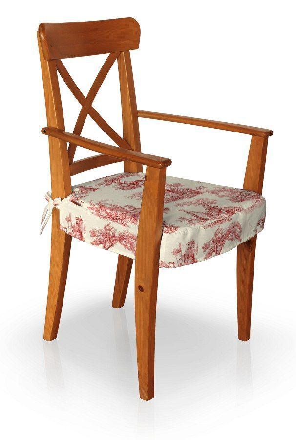 Sitzkissen geeignet für das Ikea Modell Ingolf Armlehnstuhl, creme ...