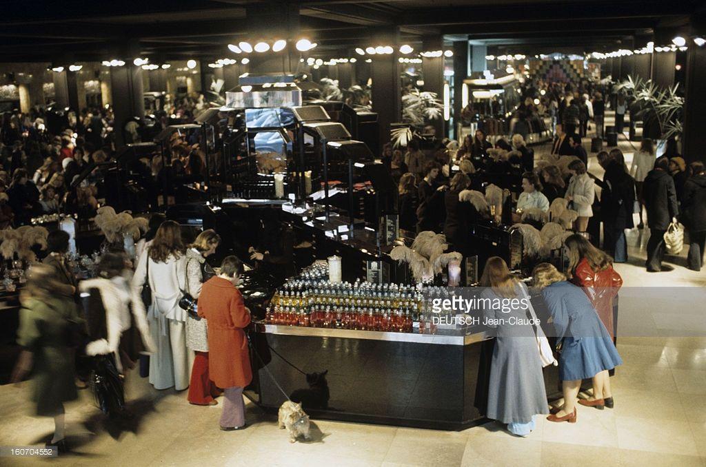 The Biba Fashion Store In London. 1973