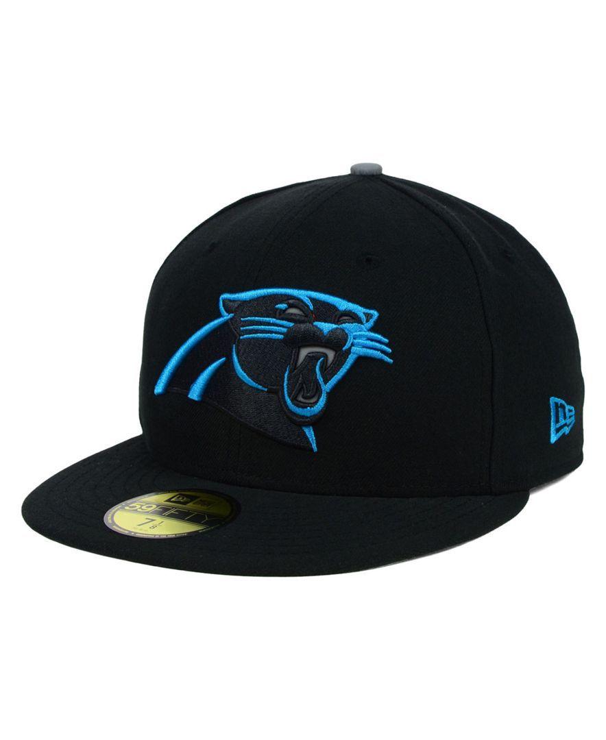 New Era Carolina Panthers Thanksgiving On Field Reflective 59FIFTY Cap